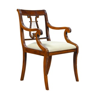 Harp Back Arm Chair For Sale