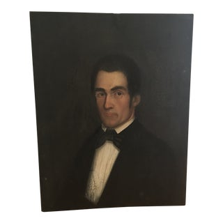 1850's New England Portrait For Sale