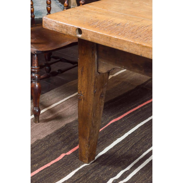 1840's English Farm House Table For Sale In San Francisco - Image 6 of 9