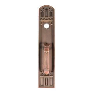 Gothic Cast Bronze Door Handle For Sale