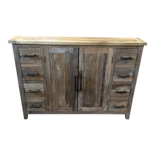 Reclaimed Narrow Cabinet For Sale