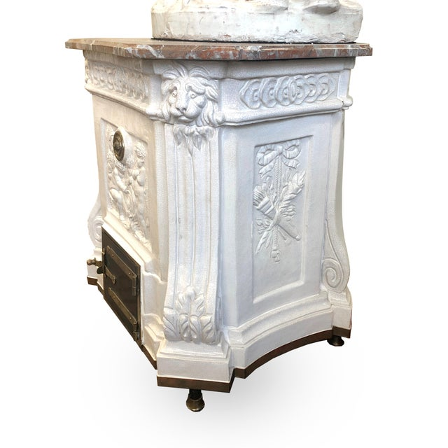 Louis XVI Heating Stove For Sale - Image 9 of 11