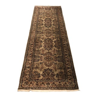 Sarouk Wool Runner From Medallion Rug Gallery For Sale