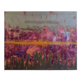 Mike Adamo Painting Distant Oscillation For Sale