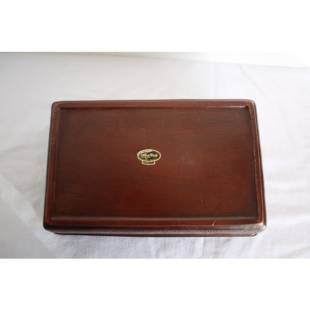 Syroco Midcentury Wood Box with Horse Head Detail - Image 6 of 7