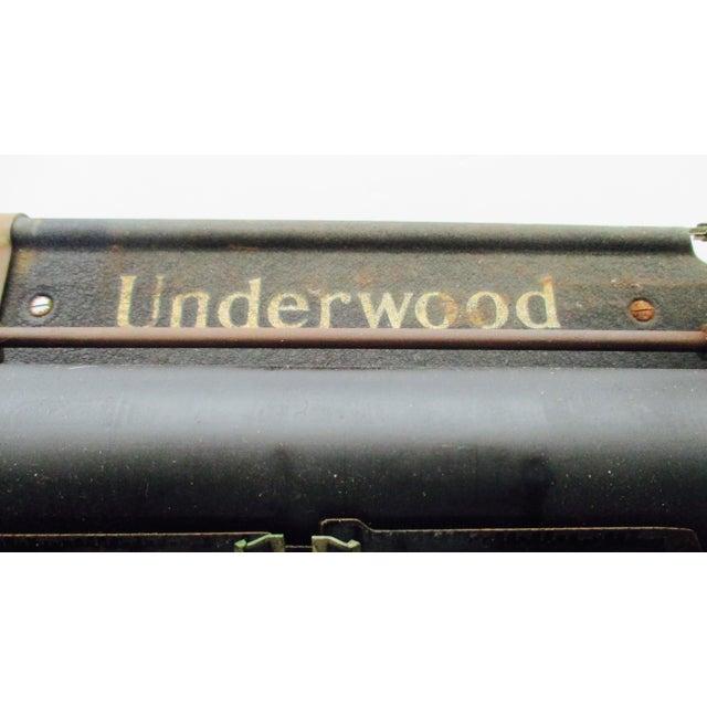 Antique Underwood Typewriter - Image 6 of 11