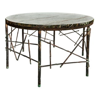Christine Rouviere Roseau Coffee Table For Sale