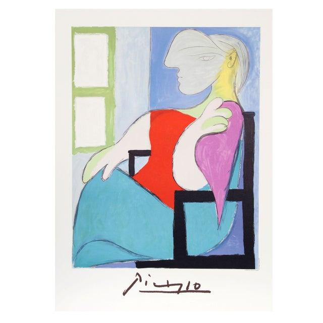 Pablo Picasso - Femme Assise Pres d'Une Fenetre - Image 1 of 2