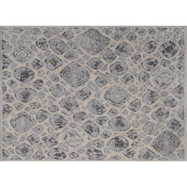Stark Studio Rugs Contemporary New Oriental Wool Rug - 9′ × 12′4″ For Sale