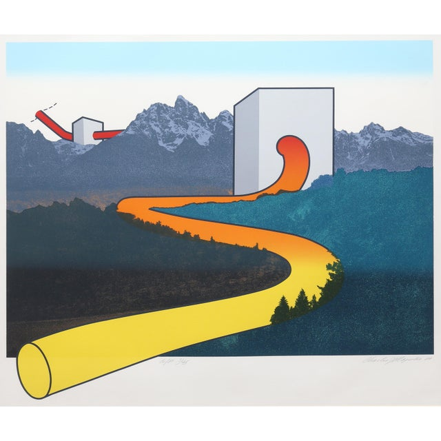 Modern Charles Magistro, Valley Hose, Serigraph For Sale - Image 3 of 3