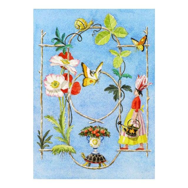"""Rustic Garden Fantasy"" Giclée Print - Image 2 of 3"