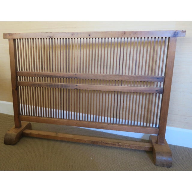 Antique Japanese Window Screen - Image 4 of 8