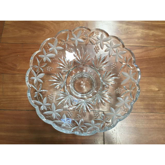 Crystal Centerpiece Bowl - Image 3 of 5