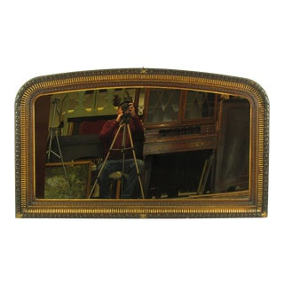19th-C. French Louis XVI Style Mantle Mirror For Sale