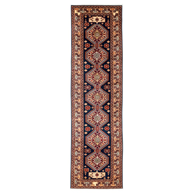 """New Traditional Hand Knotted Runner - 2'7"""" x 9'5"""" - Image 1 of 3"""