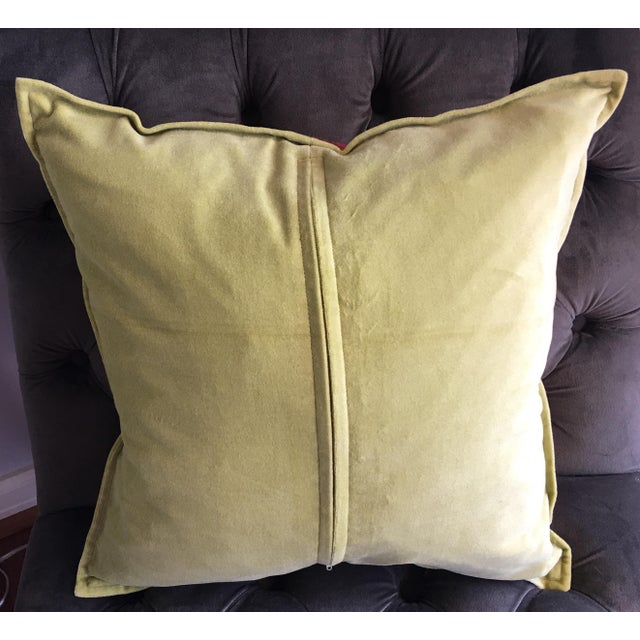 Copper & Gold Lamé Silk Pillow Covers - A Pair - Image 4 of 4