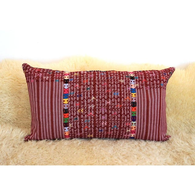 """The Jimmy"" Guatemalan Pillow - Image 2 of 5"