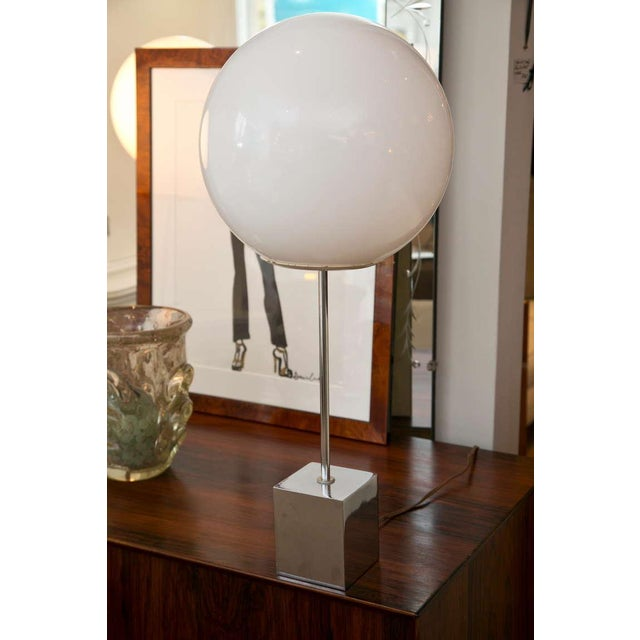 Robert Sonneman 1960's Globe Lamp - A Pair - Image 3 of 6