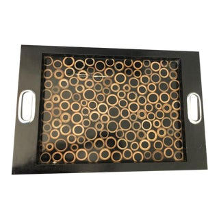 Contemporary CoCo Wood Tray For Sale