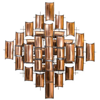 Torch Cut Copper Wall Art Sculpture