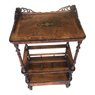 19th Century Walnut Music Stand