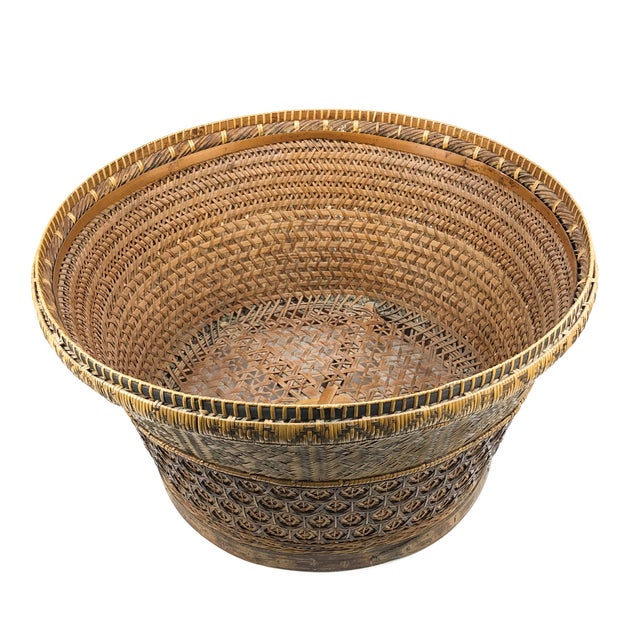 Not all baskets are created equally. Especially when talking Chinese Royalty. The weaving and pattern are significantly...