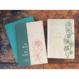 Vintage Decorative Botanical Books - Set of 3 Preview