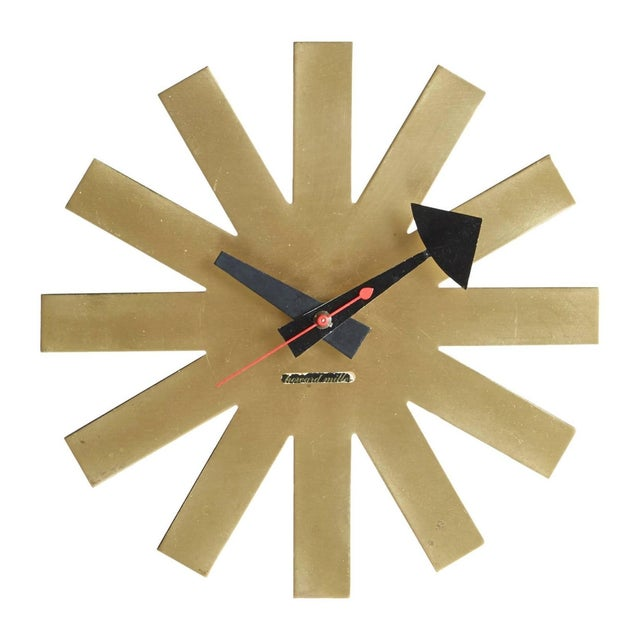Asterisk Clock by George Nelson Circa 1953 - Image 1 of 5