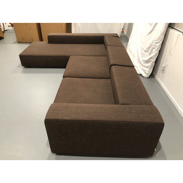 Mid-Century Modern B&b Italia Andy Sectional Sofa by Paolo Piva For Sale - Image 3 of 8