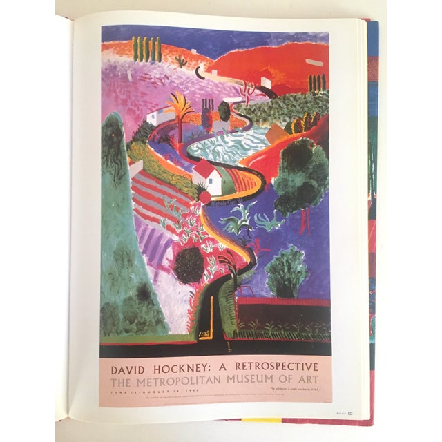"""David Hockney Poster Art"" 1st Edition Vintage 1995 Collector's Art Book For Sale In New York - Image 6 of 11"