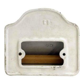 Vintage White Toilet Paper Holder For Sale