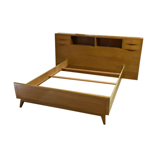 Red Lion Bleached Mahogany Full Bed - Image 1 of 6