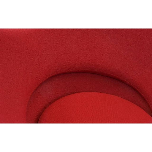 Metal Original Verner Panton Cone Heart Chair for Plus-Linje For Sale - Image 7 of 9
