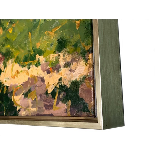 Contemporary Tuscan Hand Scrape Painting For Sale In Dallas - Image 6 of 8