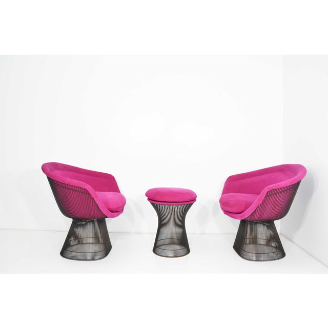 Pair of 1960s Bronze Warren Platner Lounge Chairs - Image 5 of 9