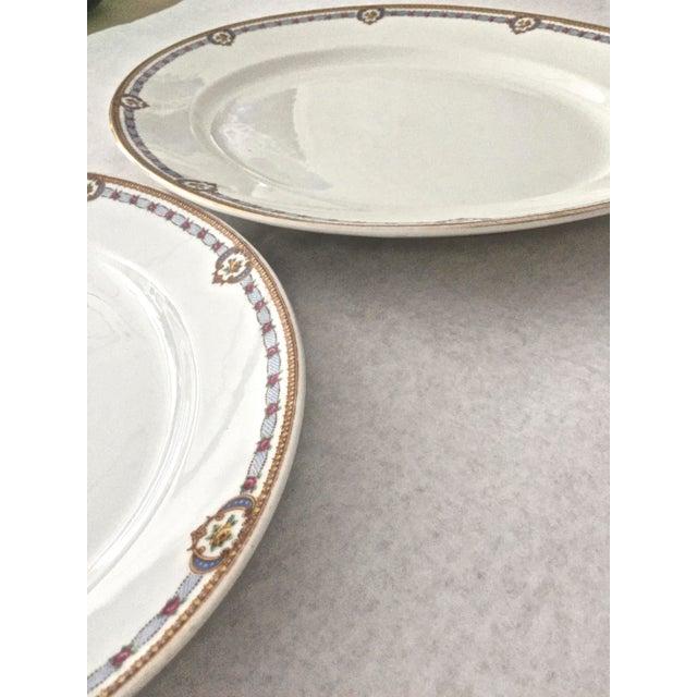 1930s 1930s Vintage Limoges Bernardaud Serving Platters - A Pair For Sale - Image 5 of 8