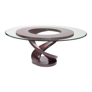 Fleur Dining Table, Ebony For Sale