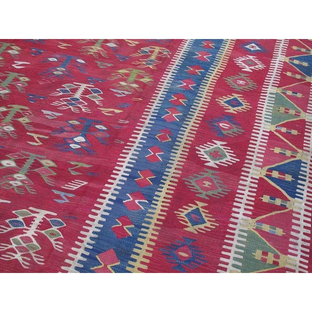 Antique Sharkoy Kilim For Sale - Image 4 of 9