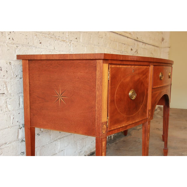 Mahogany Baker Furniture Historic Williamsburg Sideboard For Sale - Image 7 of 11