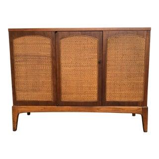 Lane Mid-Century Walnut Bar Cabinet