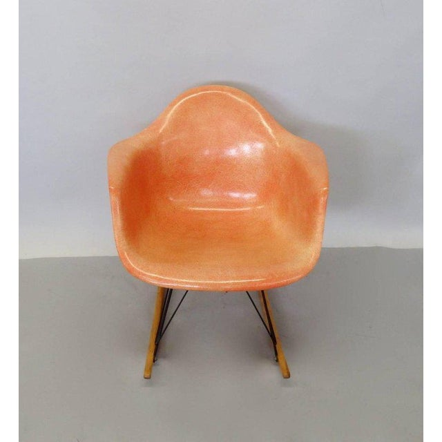 The best I have ever owned Charles and Ray Eames rope edge rocker. Excellent Eames Herman Miller Zenith Plastics label....