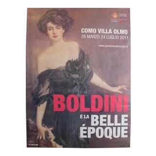 2011 Contemporary Exhibition Poster - Boldini E La Belle Epoque - Como - Boldini For Sale