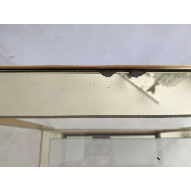 Mastercraft Style Brass Console Table For Sale - Image 11 of 13