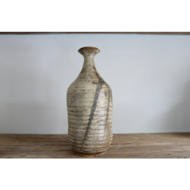 1960s Lucie Rie Style Handmade Ceramic Vessel For Sale - Image 5 of 5