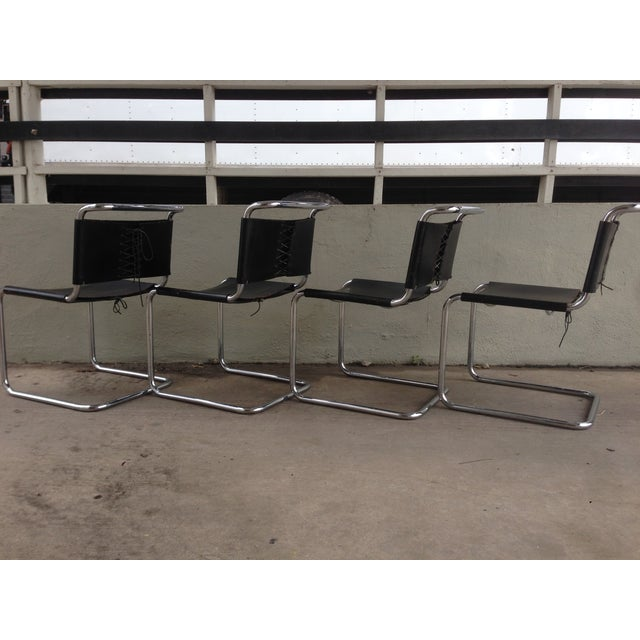 "Marcel Breuer ""Spoleto"" Chairs for Knoll - S/4 - Image 3 of 10"