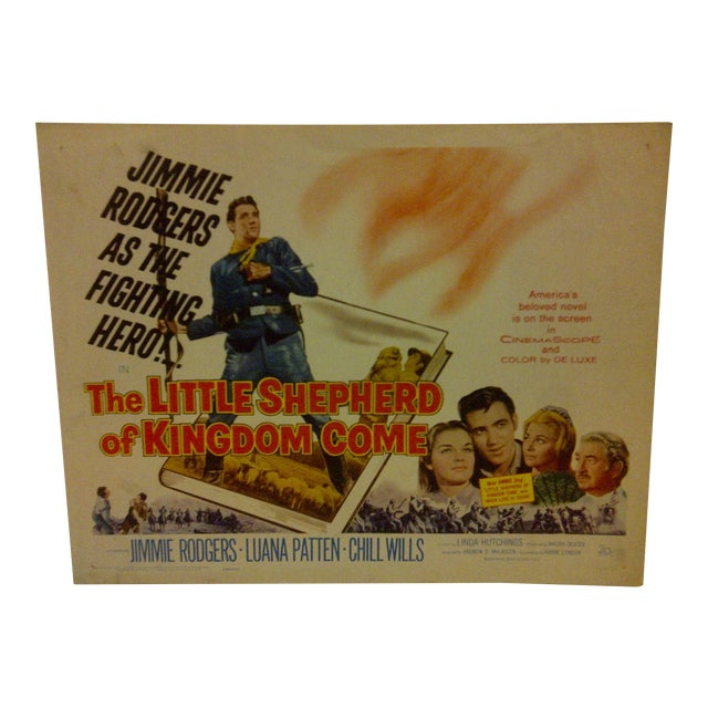 "Vintage Movie Poster ""The Little Shepherd of Kingdom Come"" For Sale"