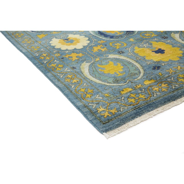 New Arts & Crafts Hand-Knotted Rug - 6′ × 9′4″ - Image 2 of 2