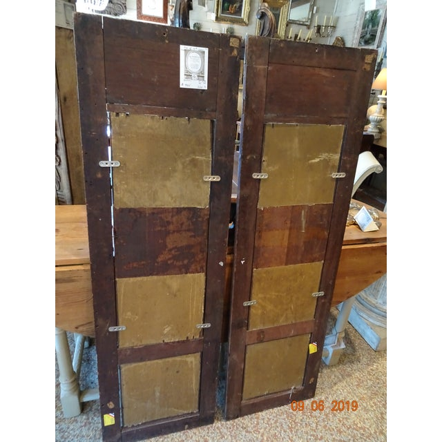 Pair of 19th Century Italian Architectural Panels For Sale - Image 12 of 13
