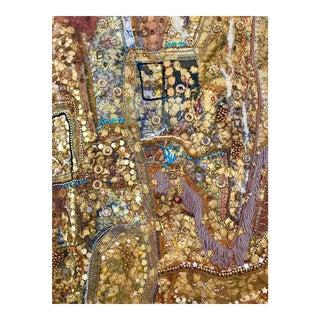 """Phantasmagoria"" Monumental Shawne Major Mixed-Media Tapestry For Sale"