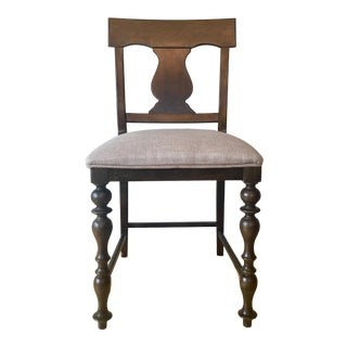 Universal Furniture Tobacco Finish Counter Height Stool For Sale